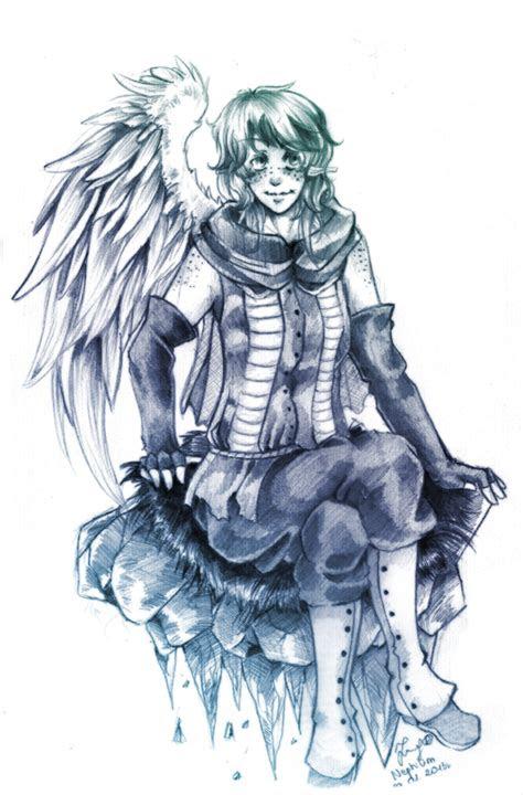 sketch nephilim  kawaiijumi  deviantart