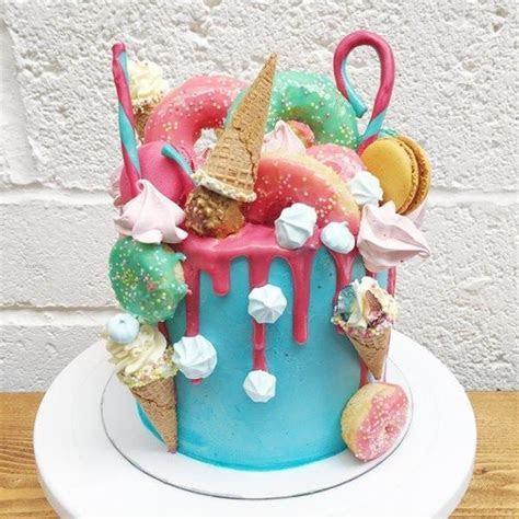 Fun Fair Unicorn Rainbow Layer Cake   Anges de Sucre