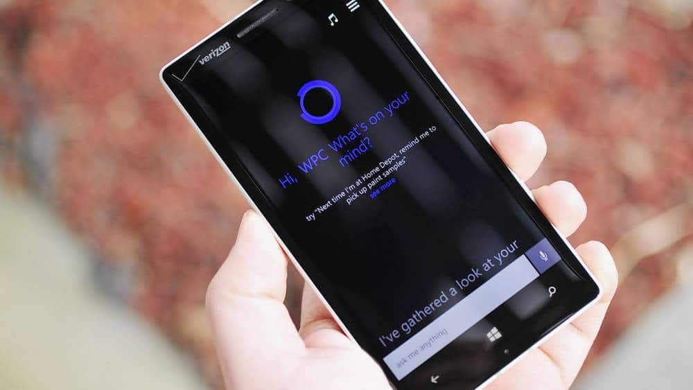 Cortana está chegando ao Windows no desktop