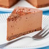 czekoladowy sernik jogurtowy bez pieczenia