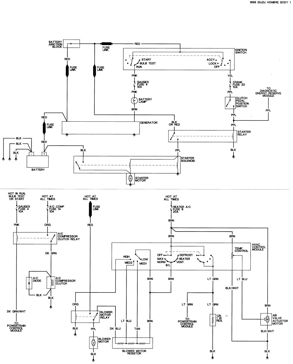 Diagram  Download 2004 Isuzu Ascender Wiring Diagram Html