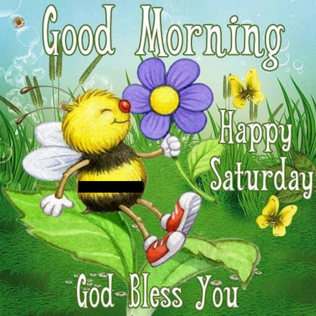 Good Morning Happy Saturday God Bless You Cute Quote Pictures