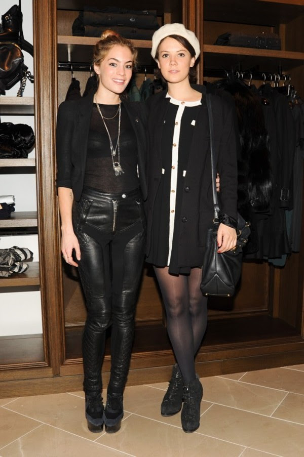 9c Opening of the New Burberry London Shop at Saks Fifth Avenue NY-DJ Chelsea Leyland, Lady Alice St. Claire Erskine