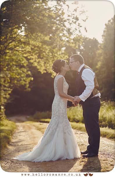 Sunset in Suffolk - wedding photography - www.helloromance.co.uk