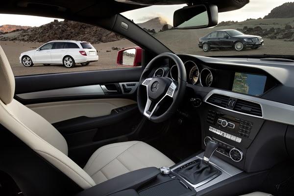 2012 Mercedes-Benz C-Class.