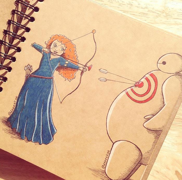 dibujos-baymax-personajes-disney-demetria-skye (14)