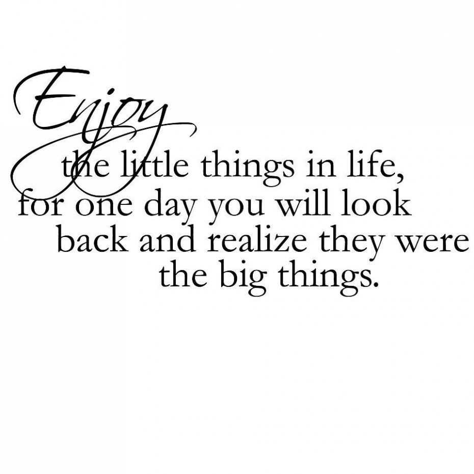 Quotes About Little Things Being Important 14 Quotes