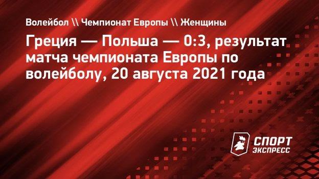 Польша обыграла Грецию начемпионате Европы