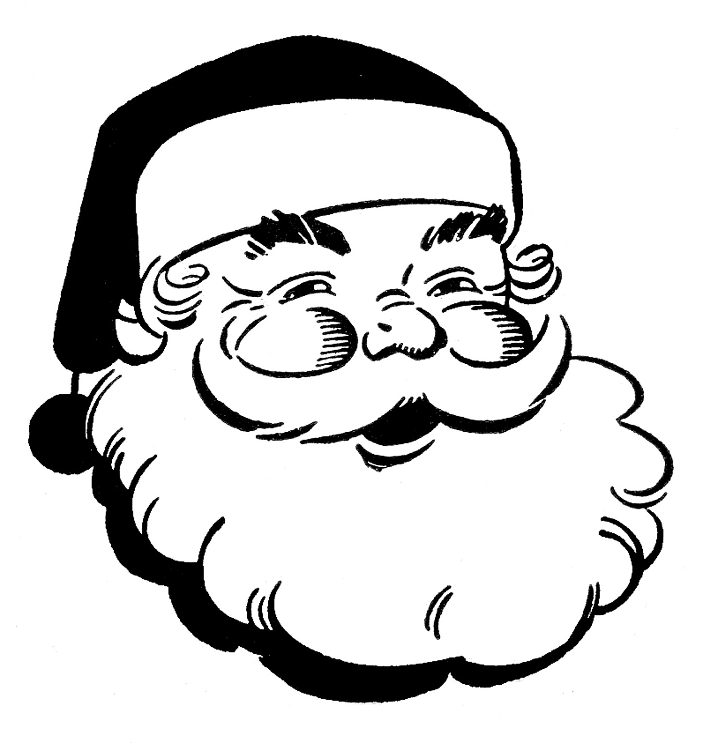 Free Christmas Black And White Images Download Free Clip Art Free