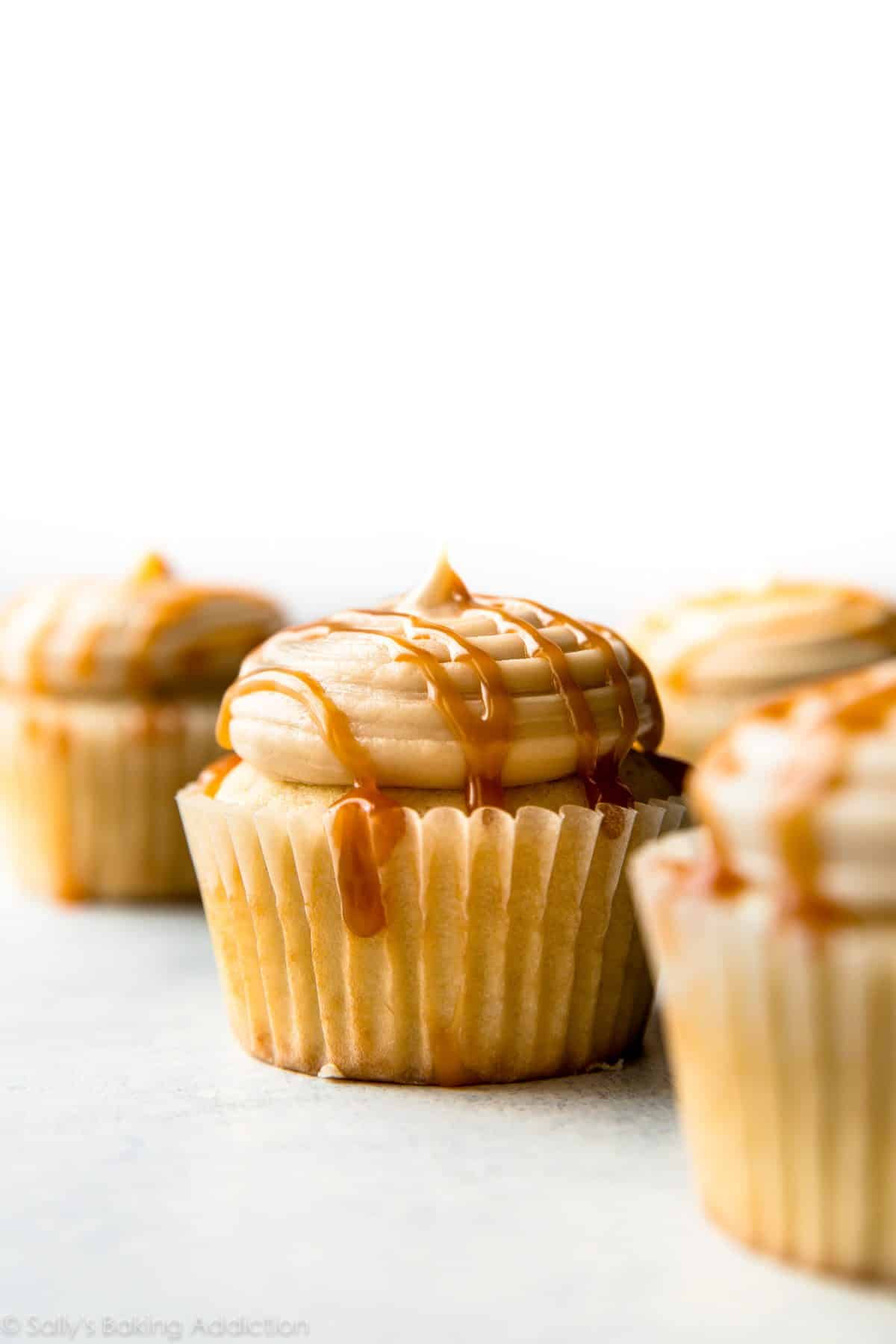 New & Improved Salted Caramel Frosting + Video - Sallys ...