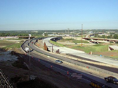Eastern approaches to Wacota Bridge work at I-494/Hwy 61