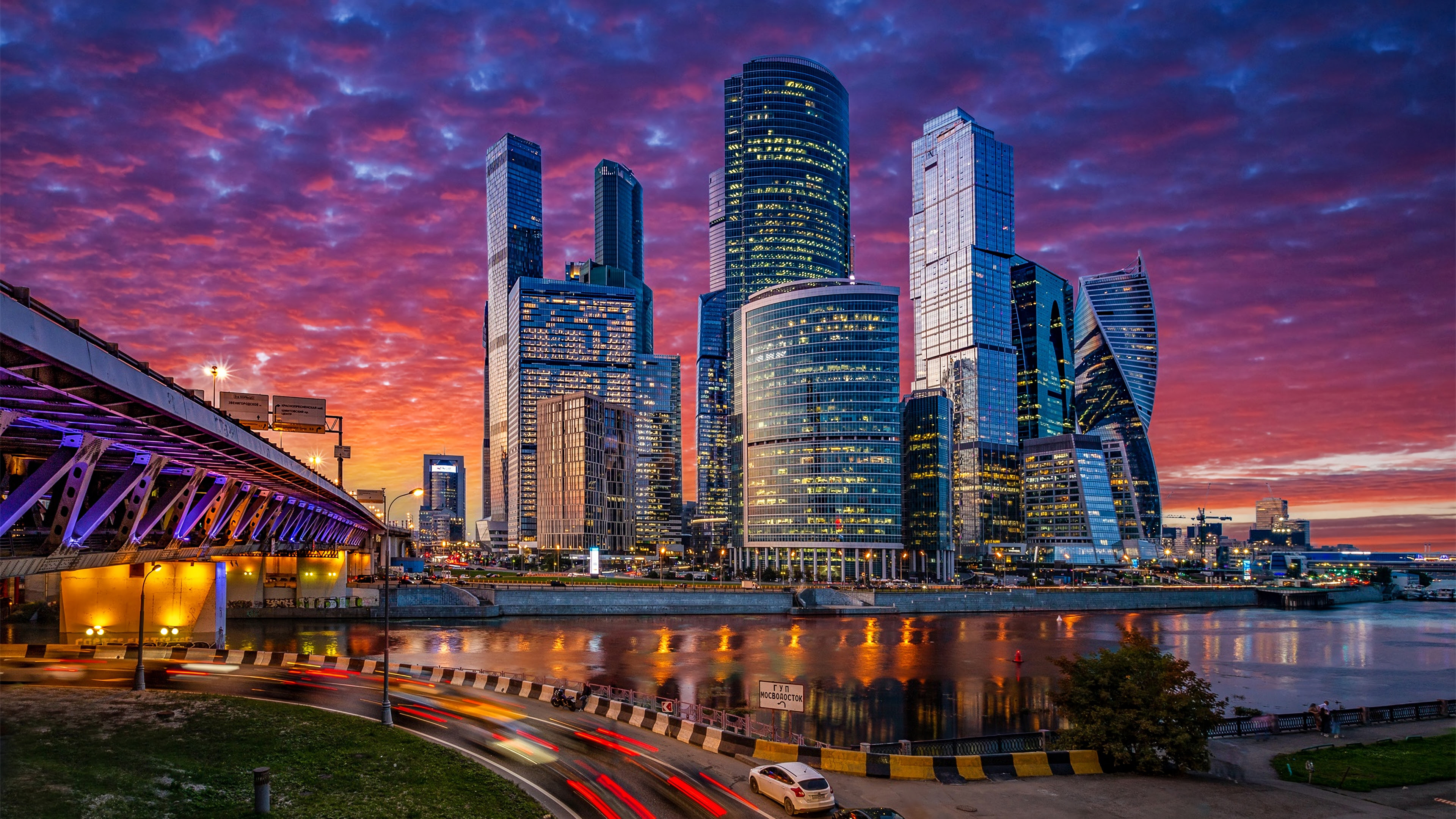 Russia Moscow Cityscape 4k, HD World, 4k Wallpapers ...