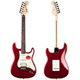 Squier by Fender Standard Stratocaster HSS Rosewood, Candy Apple Red