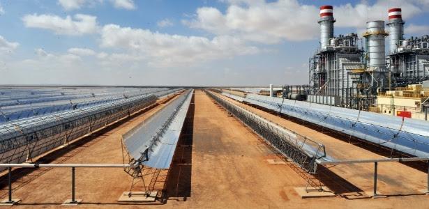 A usina termossolar de Ain Beni Mathar fornece hoje 13% do consumo elétrico do Marrocos