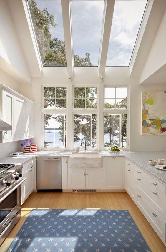 23 Impressive Kitchen Designs With A View | Interior God