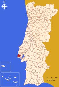 Sintra – Localizzazione
