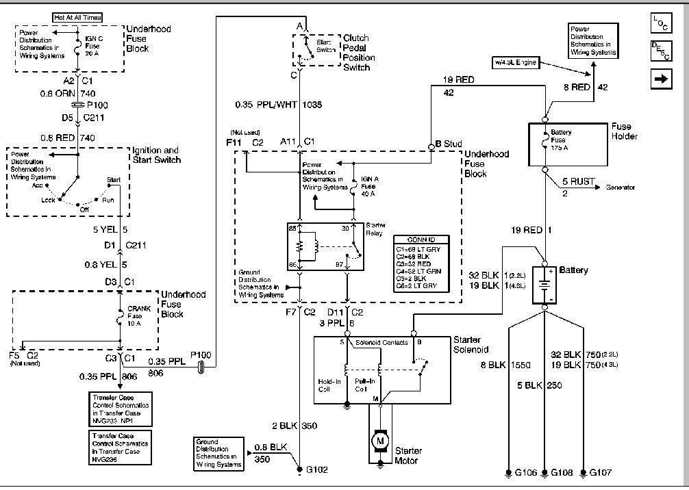 Autosportswiring  99 Chevy S10 Engine Diagram