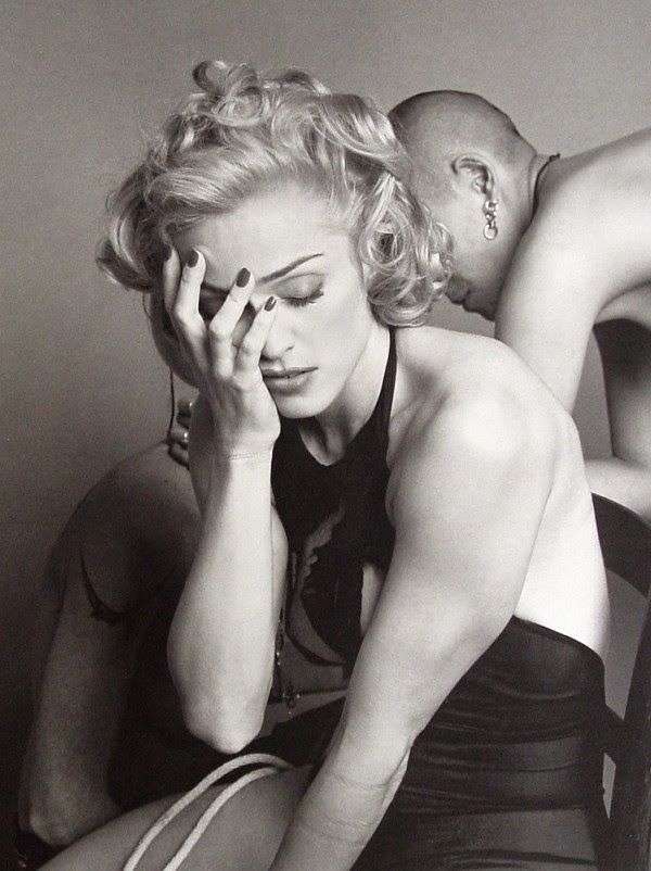 steven-meisel:  Sex Fashion (1992) by Steven Meisel Madonna  Adolfo Vasquez Rocca