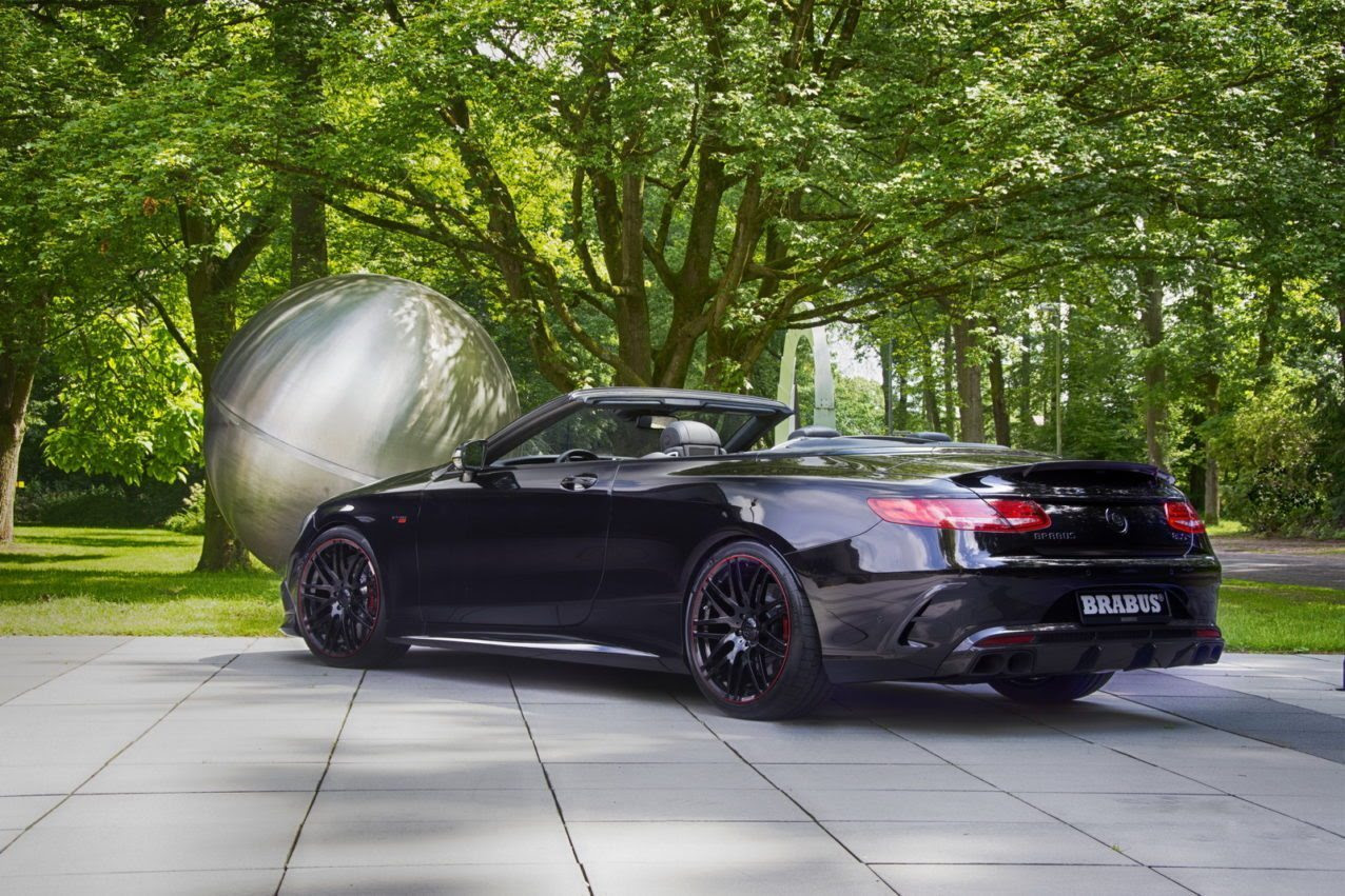 Brabus 850 6.0 Biturbo Cabrio: World\u002639;s Fastest and Most Powerful FourSeat Cabriolet