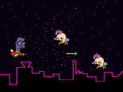 Screenshot of Space Swarm