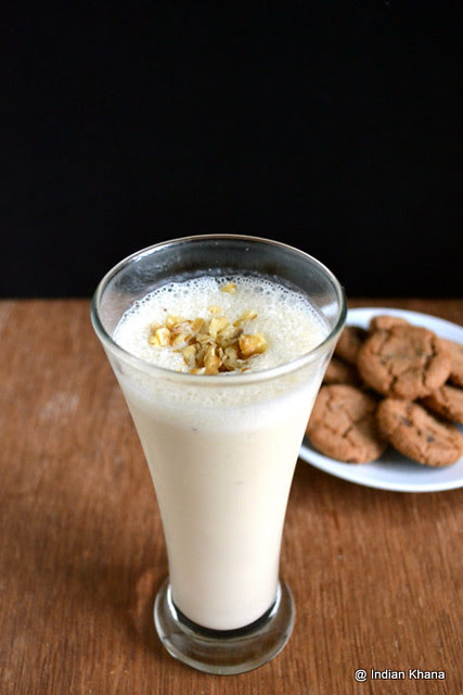 Sugarfree Banana Milkshake Recipe