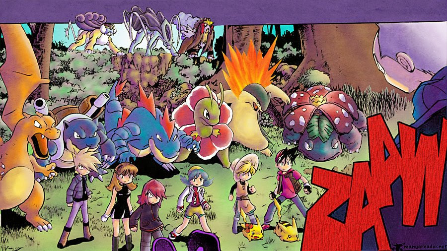 Pokemon Adventures Wallpaper  WallpaperSafari