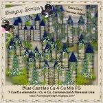 Blue Castles Cu 4 Cu Mix FS