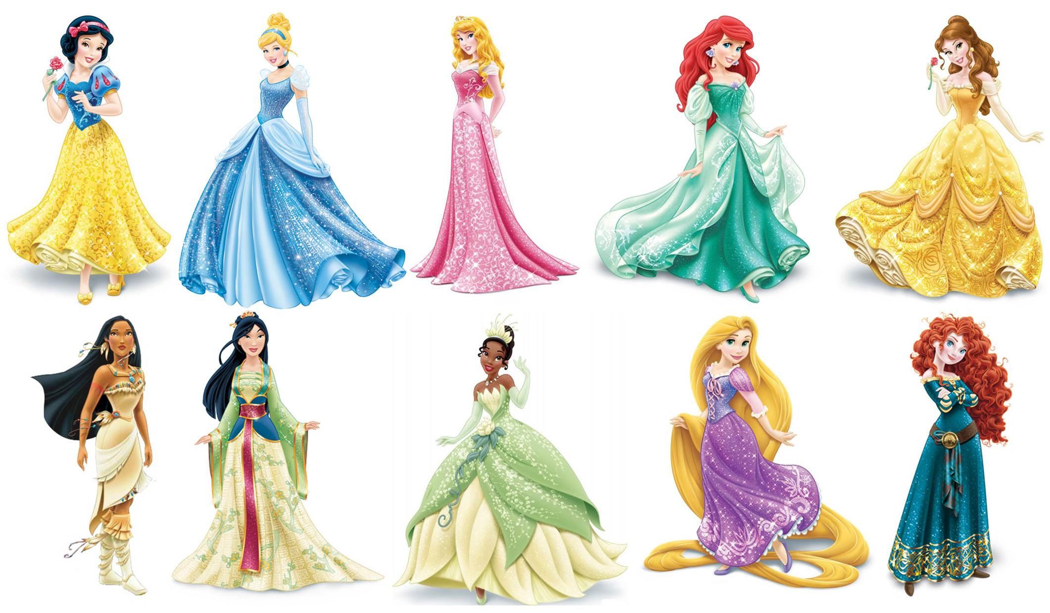 disney princesses | 2048