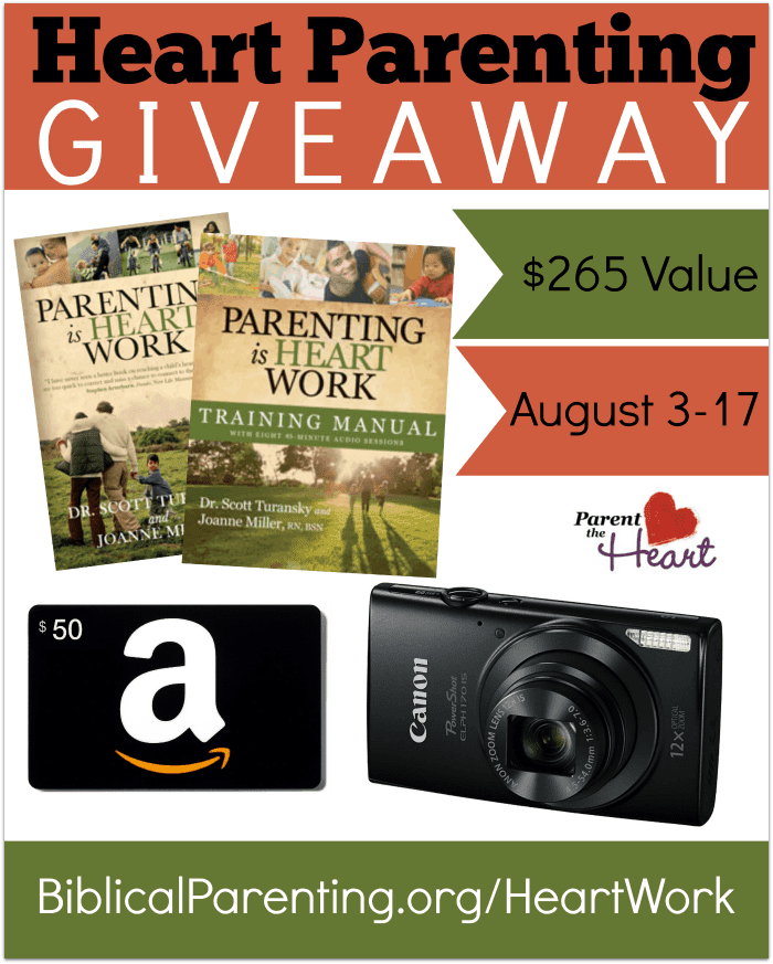 Heart Parenting Giveaway
