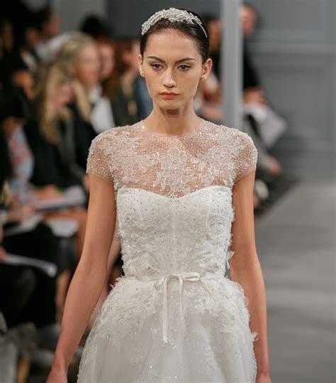 Monique Lhuillier Illusion Size 0 Wedding Dress ? OnceWed.com