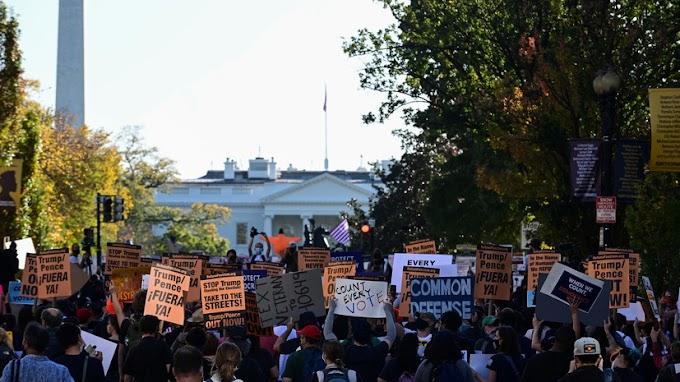 Стрельба произошла в ходе протестов в американском городе Олимпия