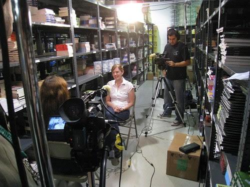 Me Being interviewed, II