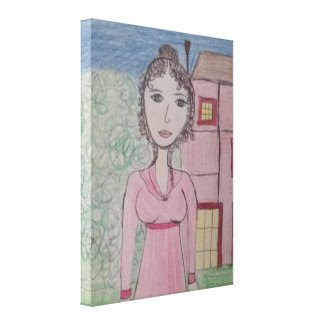 Pride and Prejudice Stretched Canvas Prints