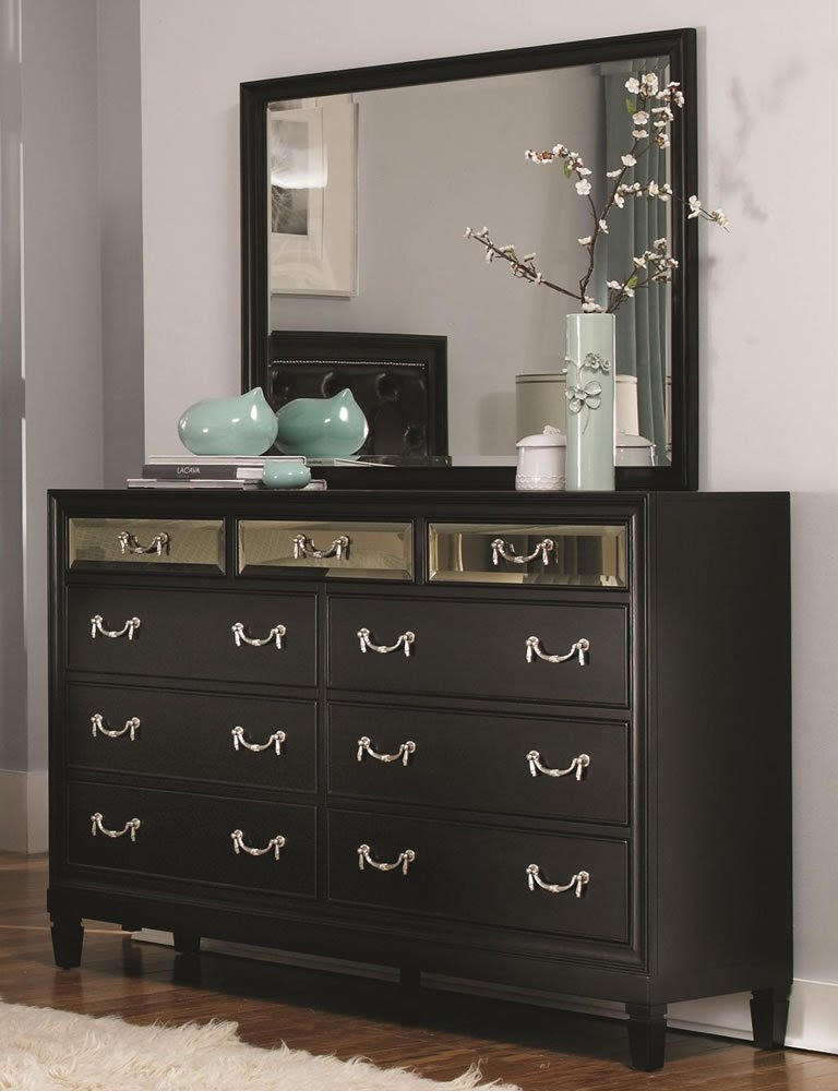 Black Bedroom Dresser - Home Furniture Design