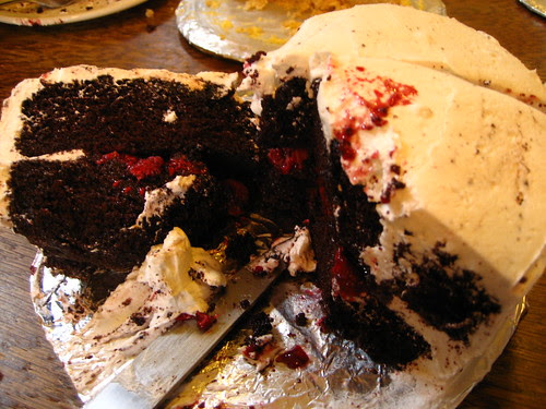 experimental dairy free cake