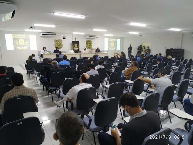 Curso de formação de policiais no RN inclui debate sobre saúde, racismo estrutural e direitos humanos