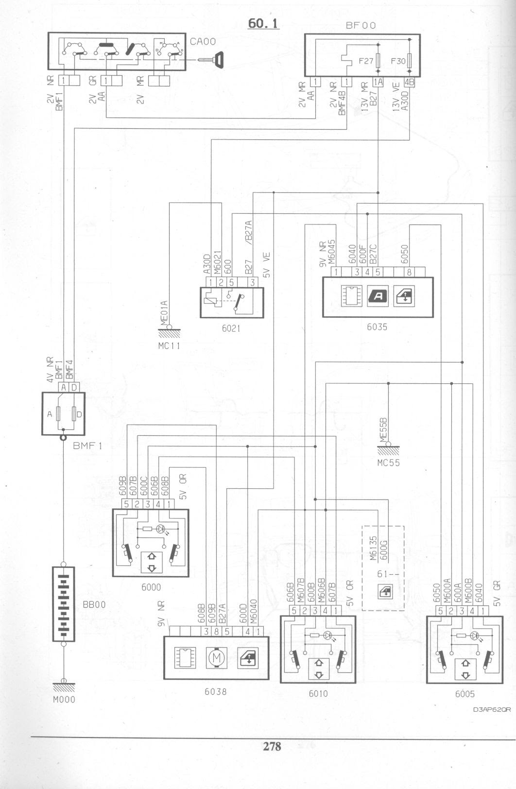 Citroen Xantium Hdi Wiring Diagram