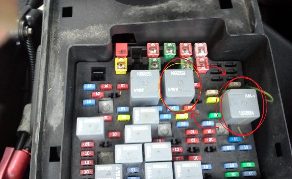 Under The Hood Fuse Box Chevy Cobalt