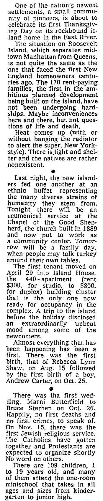 Thanksgiving 1975 - Partial