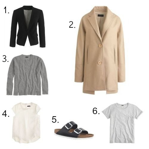 Minimalist fashion finds from J.Crew