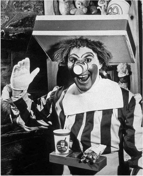 Ronald McDonald antiguo