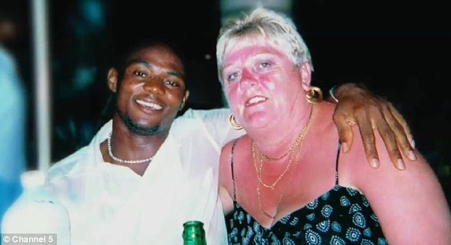 Holiday love turned sour: Michael wooed Jane when she visited The Gambia on holiday with a friend while he was working in a local bar, but after they married she realised he wasn't quite the person she thought