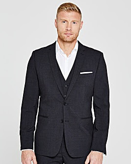 Flintoff By Jacamo Slim Suit Jacket R