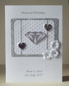 Diamond/Platinum 60th/70th Wedding Anniversary Card Wife