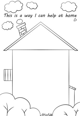 How I Can Help at Home planning sheet | Free Printable