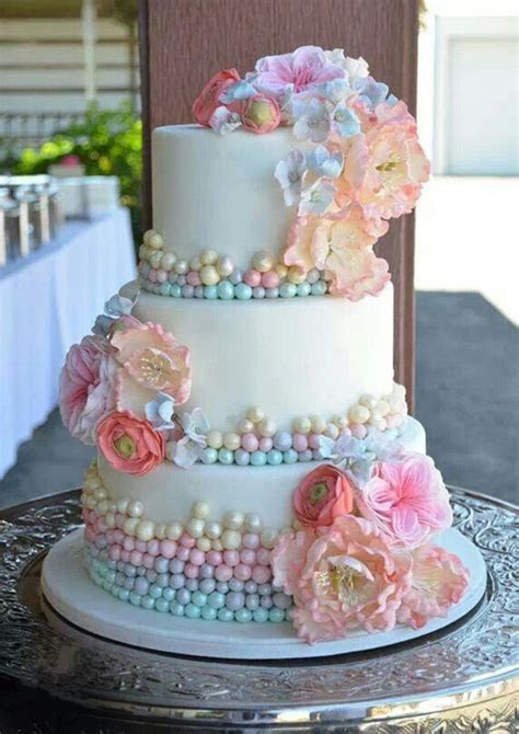 18 Pastel Wedding Cake Ideas For 2016 Spring