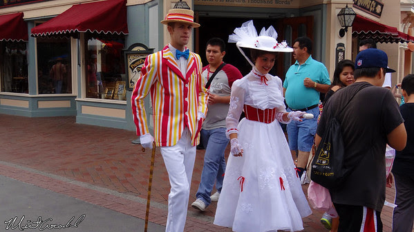 Disneyland Resort, Disneyland, Mary Poppins, Burt