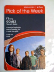 Starbucks iTunes Pick of the Week - Gomez - Sunset Gates