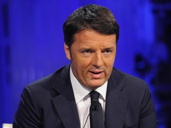 Il presidente del Consiglio Matteo Renzi (Ansa/Onorati)