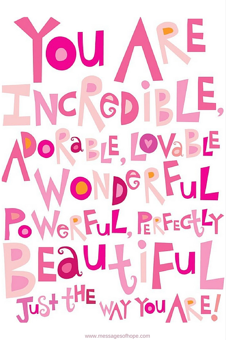 You Are Beautiful Quotes Archives Messages Of Hope Messages Of Hope